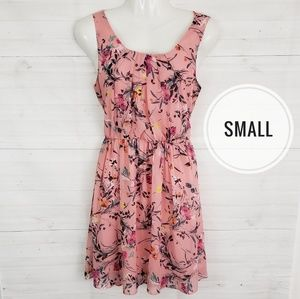 Small by&by pink floral dress